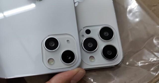 ماکت آیفون ۱۳ نشان از تغییر در سیستم تشخیصی دوگانه دوربین دارد