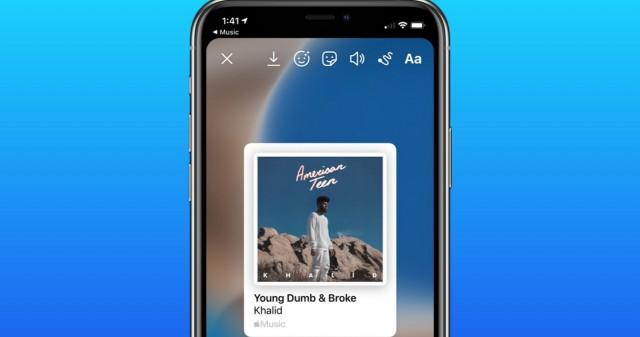 آموزش ارسال متن آهنگهای اپل موزیک در استوری اینستاگرام